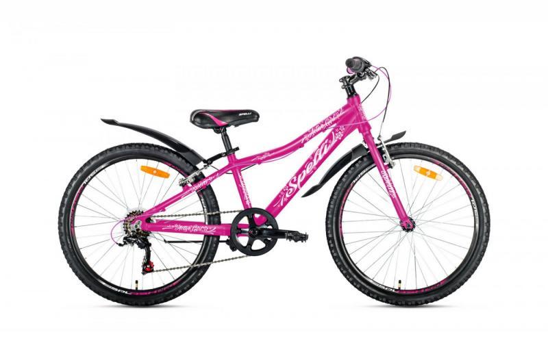 Фото ВЕЛОСИПЕДИ, SPELLI Велосипед Spelli-2019 Spelli Active Girl рожевий/біло