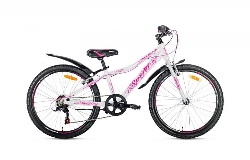 Фото ВЕЛОСИПЕДИ, SPELLI Велосипед Spelli-2019 Spelli Active Girl біло/рожевий