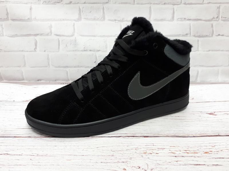 Зимние мужские кеды Nike. Украина