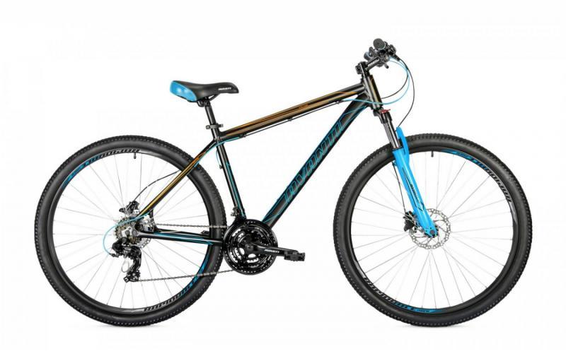 Фото ВЕЛОСИПЕДИ, AVANTI Велосипед Avanti-2019 Vector чорно/помаранч/синій