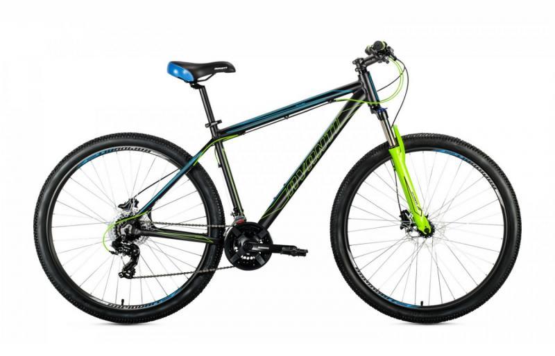 Фото ВЕЛОСИПЕДИ, AVANTI Велосипед Avanti-2019 Skyline чорно/синій/зелений