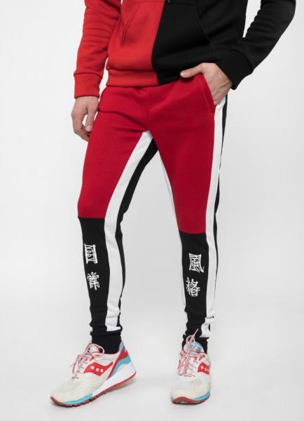Спортивные штаны утепленные Ira - JPN, Black/Red