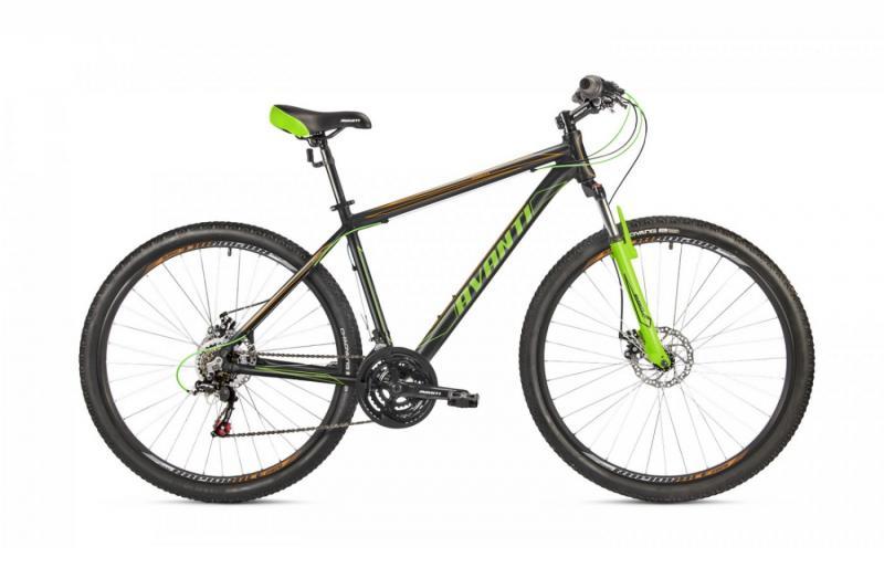 Фото ВЕЛОСИПЕДИ, AVANTI Велосипед Avanti-2019 Sprinter черно/помаранч/зелений