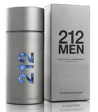 Туалетная вода Carolina Herrera 212 Men (магнитная крышка) (edt 100ml)