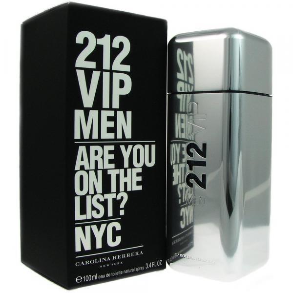 Туалетная вода Carolina Herrera 212 VIP Men (edt 100ml (Grey)