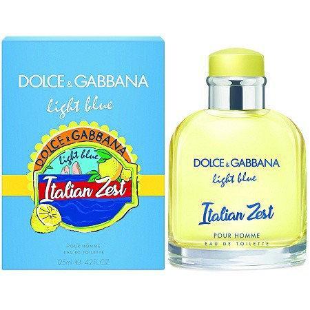 Туалетная вода Dolce&Gabbana Light Blue Italian Zest Pour Homme (edt 125ml)