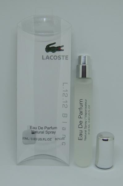 Мини-парфюм Lacoste Eau de Lacoste L.12.12 Blanc (20 мл)