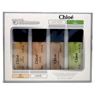 Набор с феромонами Chloe 2 (4×15 ml)