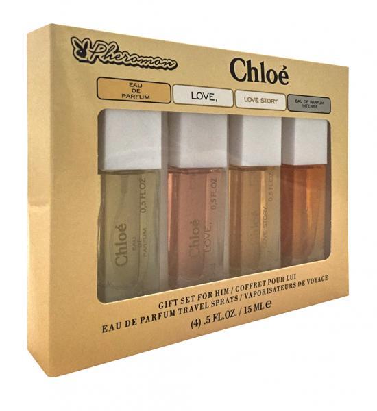 Набор с феромонами Chloe (4×15 ml)
