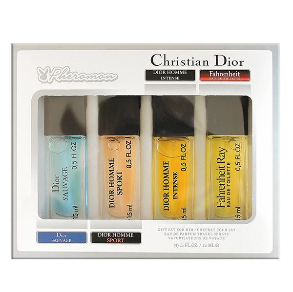 Набор с феромонами Christian Dior 2 (4×15 ml)