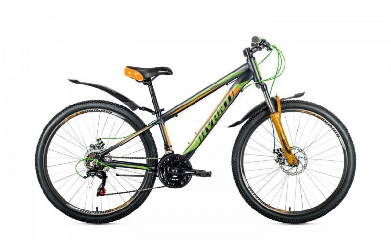 Фото ВЕЛОСИПЕДИ, AVANTI Велосипед Avanti-2019 Premier чорно/зелено/помаранчовий