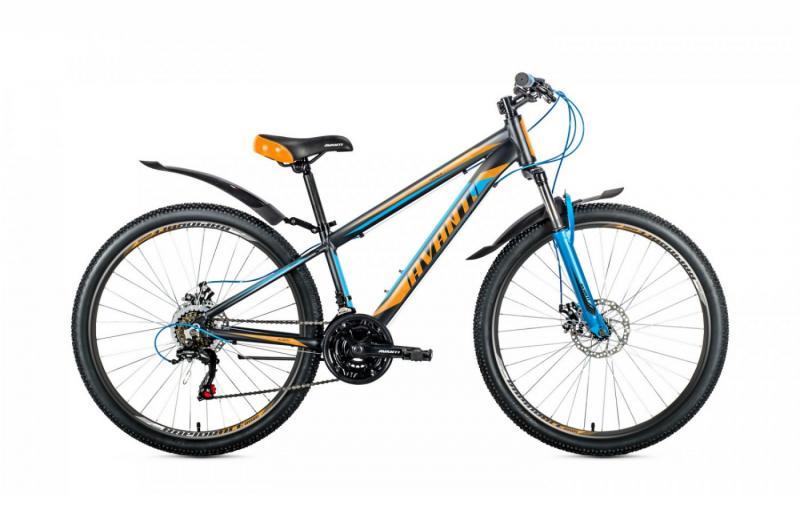 Велосипед Avanti-2019 Premier чорно/помаранчово/синій