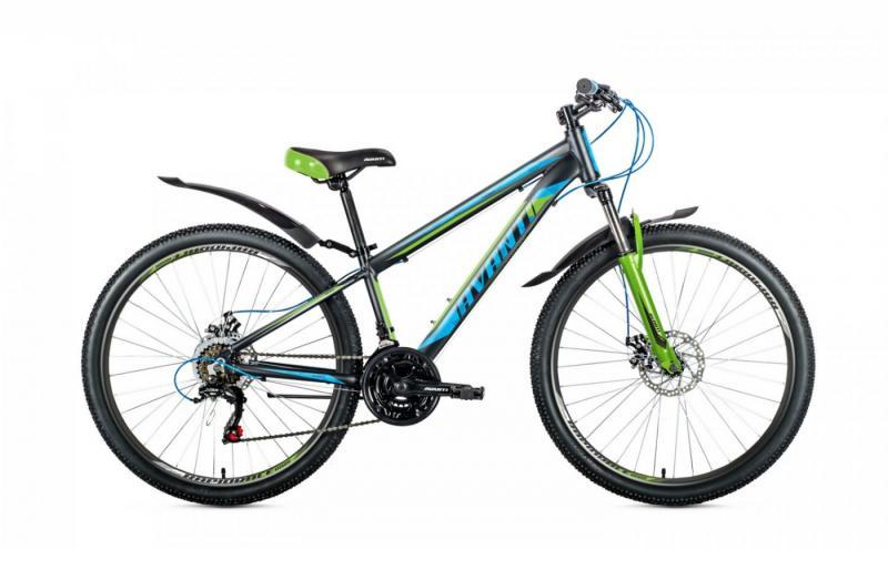 Фото ВЕЛОСИПЕДИ, AVANTI Велосипед Avanti-2019 Premier чорно/синьо/зелений