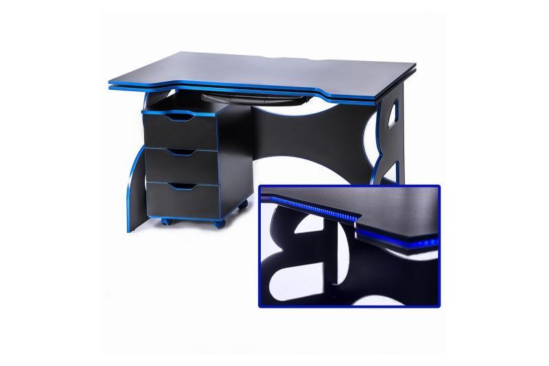 Геймерский стол с тумбой Barsky Game HG-04/CUP-04/PC-01