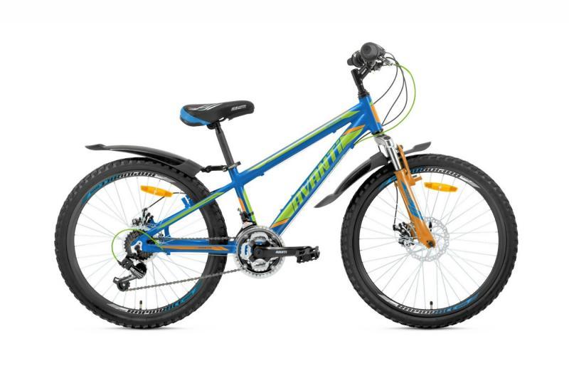 Велосипед Avanti-2019 Sprinter синьо/зелений