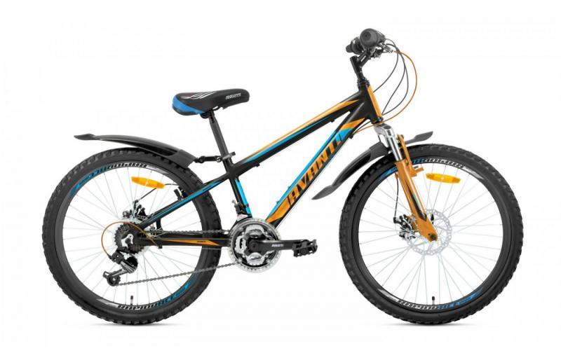 Фото ВЕЛОСИПЕДИ, AVANTI Велосипед Avanti-2019 Sprinter чорно/синій/помаранч