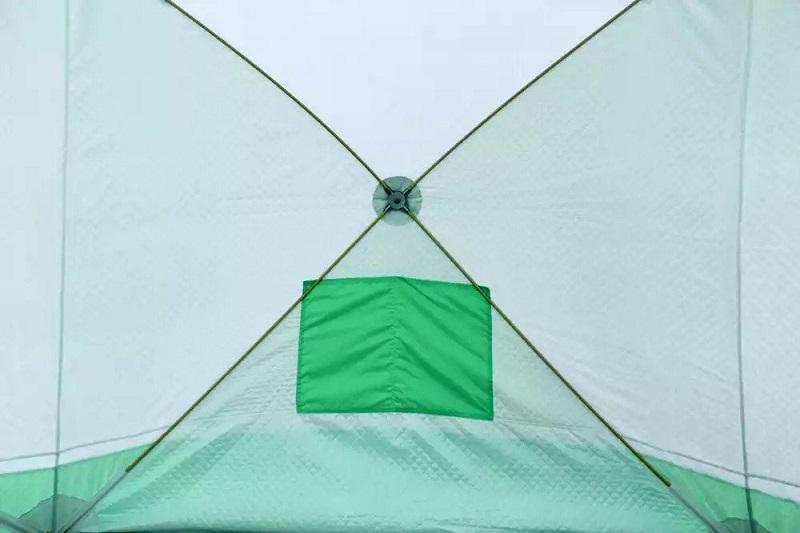 Фото Зимние палатки Палатка медведь Куб 3 трехслойная