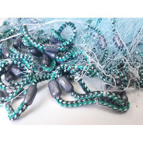Фото Рыболовные сети (Для промышленного лова), Кастинговые сети (Парашюты) Кастинговая сеть 5м из плетеной лески