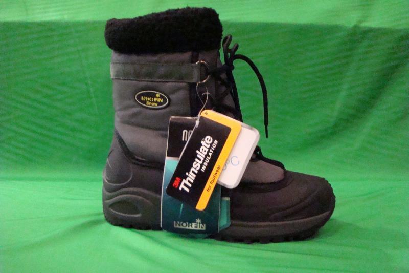 Фото Обувь для рыбаков и охотников Ботинки зимние NORFIN SNOW GREY (-20°)