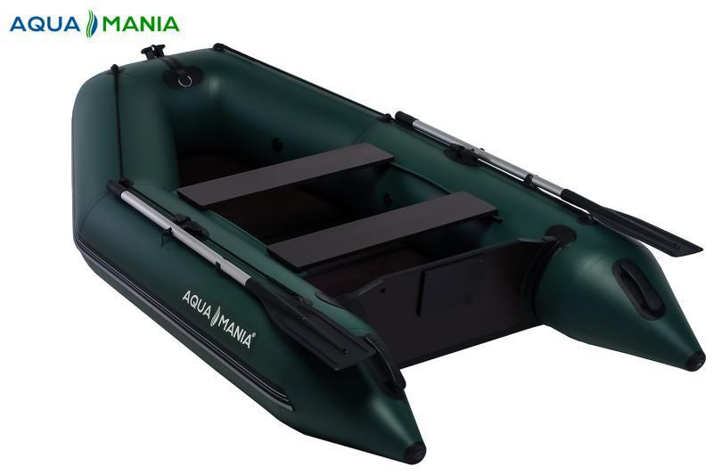 Фото Лодки ПВХ Двухместная плоскодонная моторная лодка AQUA MANIA AM-270