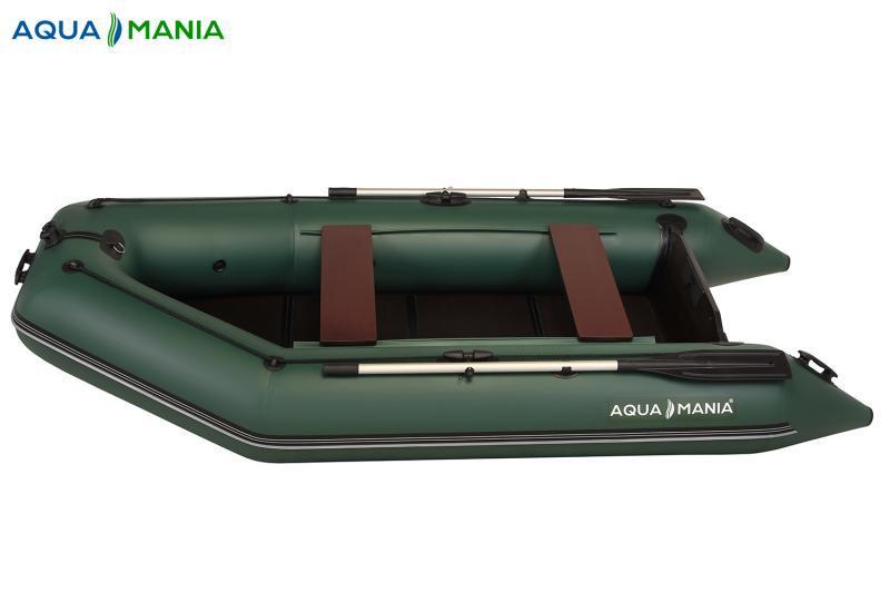 Двухместная плоскодонная моторная лодка AQUA MANIA AM-330