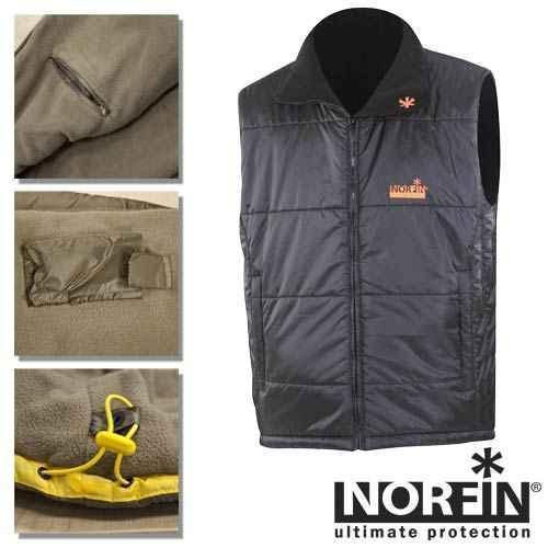 Фото Одежда для рыбаков и охотников Жилет-безрукавка Norfin