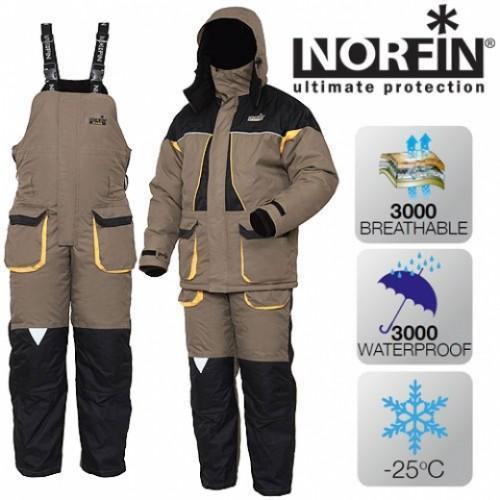 Фото Одежда для рыбаков и охотников, Зимние костюмы Norfin Костюм Norfin ARCTIC