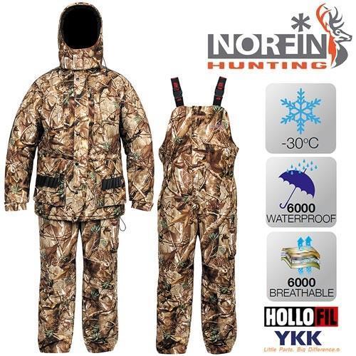 Фото Одежда для рыбаков и охотников, Зимние костюмы Norfin Костюм охотничий зимний NORFIN Hunting Wild