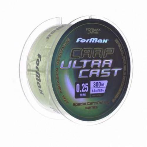 Фото Рыболовные снасти, Леска, Шнуры Леска FORMAX Carp Ultra Cast 300м  0,4мм