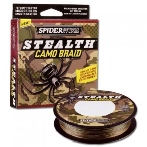 Фото Рыболовные снасти, Леска, Шнуры Леска плетеная Spider Camo (110м, 0,30mm 29,4 кг)