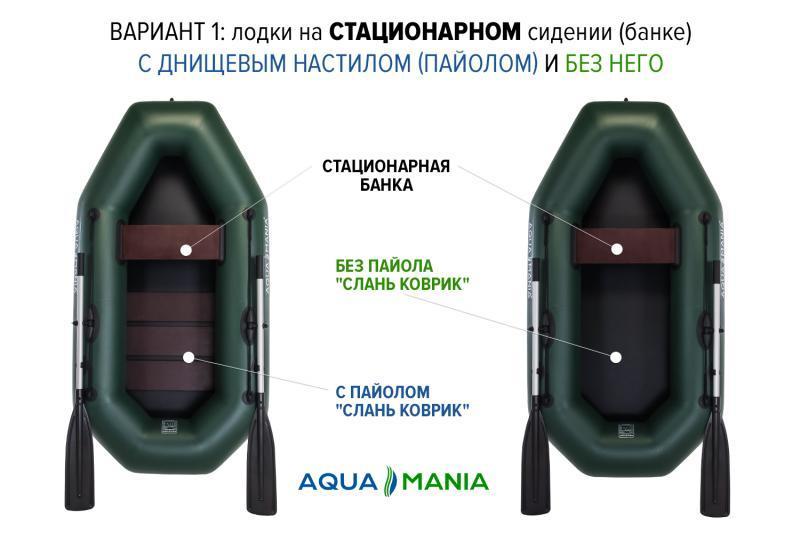 Фото Лодки ПВХ НАДУВНАЯ ПВХ ЛОДКА AQUA MANIA A-210