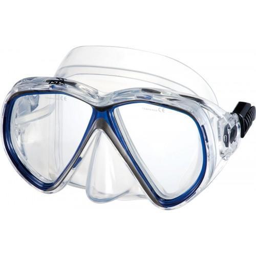Подводная маска IST M75-1B/W MARTINIQUE SIL белая