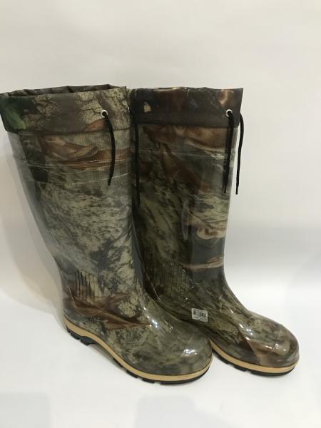 Фото Обувь для рыбаков и охотников Сапоги  рыбацкие силиконовые с утеплителем ПС 15-1