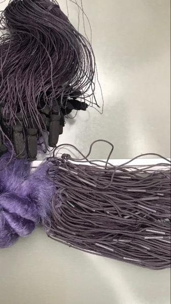 Фото Сети (ДЛЯ ПРОМЫШЛЕННОГО ЛОВА), Сети рыболовные одностенные (для промышленного лова), Вшитый груз Сетка рыболовная(синяя,одностенная,вшитый груз,леска)100*1.8м;35 ячейка