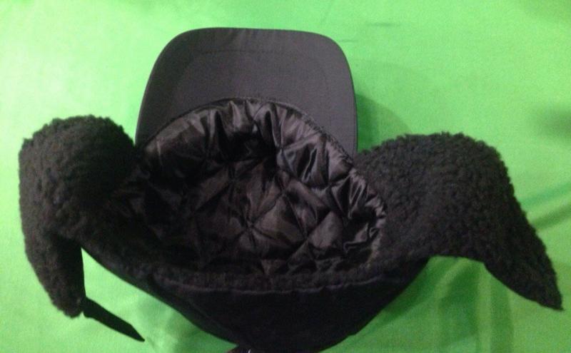 Фото Одежда для рыбаков и охотников, Головные уборы, Зимние шапки Шапка Norfin Inari Black