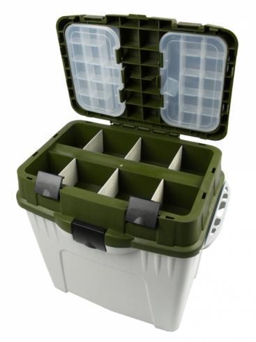 Фото Рыболовные Ящики и Коробки Ящик Aquatech зимний 2870 (зеленый)
