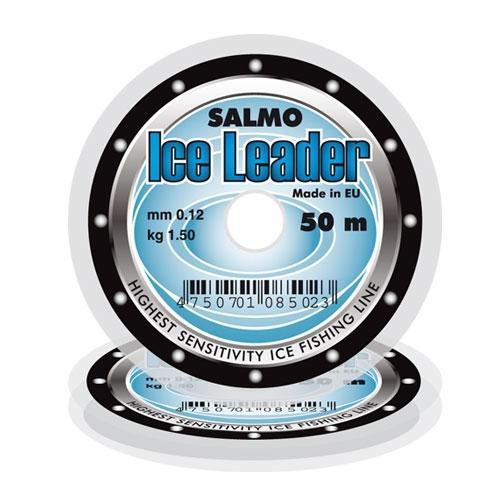 Фото Рыболовные снасти, Леска, Шнуры ЛЕСКА ЗИМНЯЯ SALMO ICE LEADER 50M   0,08 и 0,10мм