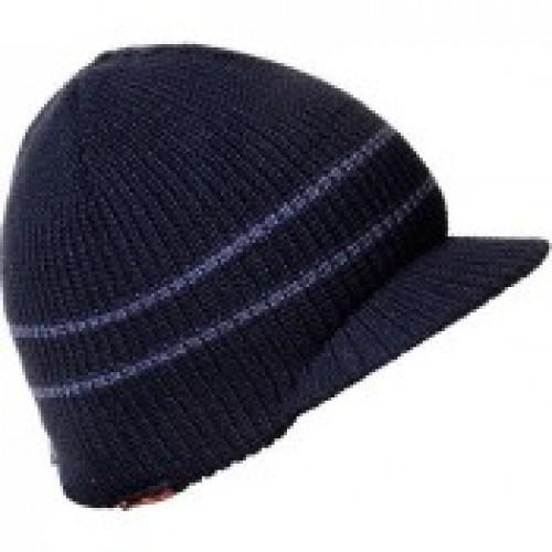 Фото Одежда для рыбаков и охотников, Головные уборы, Зимние шапки Шапка Formax вязаная с козырьком  945