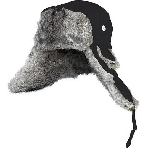 Фото Одежда для рыбаков и охотников, Головные уборы, Зимние шапки Шапка-ушанка Norfin Ardent натуральный мех (черная)
