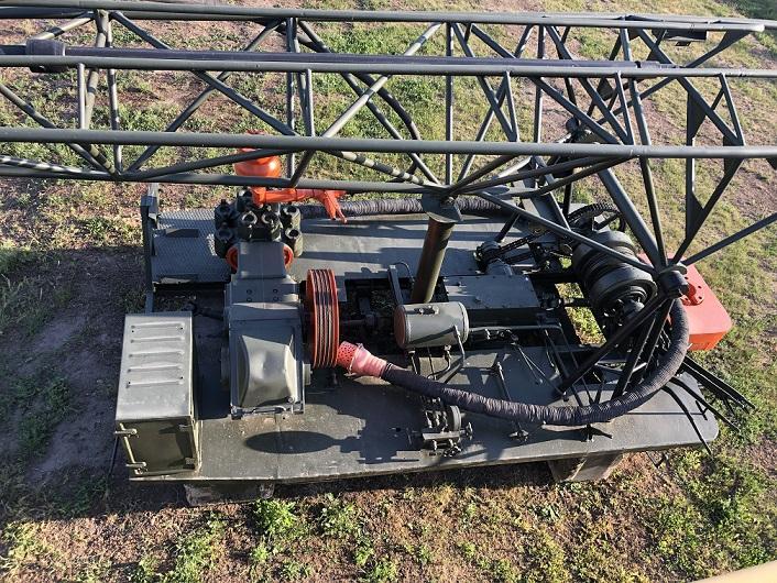 Буровая установка УРБ 2.5 А с инструментом на 100 метров