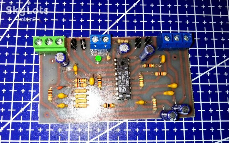 """""""Саунд-процессор"""" для домашнего УНЧ, Процессор пространственного звучания"""