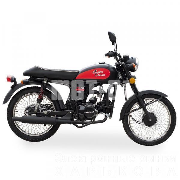 МОПЕД RETRO CLASSIC 125 - Мотоциклы, мотороллеры, скутеры, мопеды на рынке Барабашова