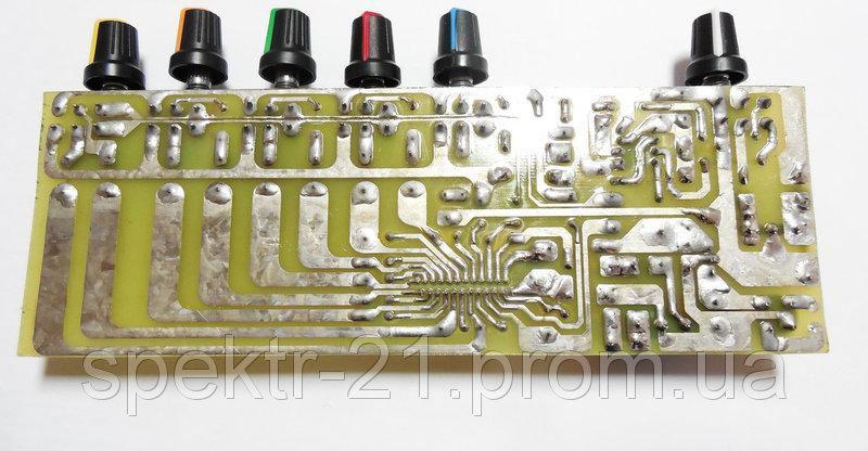 5 полосный эквалайзер на BA3822LS + TL072.