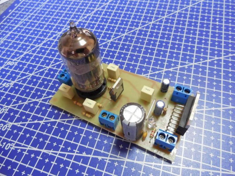 'Hi-End' Ламповый гибридный усилитель 40Вт+40Вт