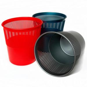 Фото Хозяйственные товары (ЦЕНЫ БЕЗ НДС), Корзина для мусора, урна для бумаг Корзина для мусора UNI, ассорти, 10 л.
