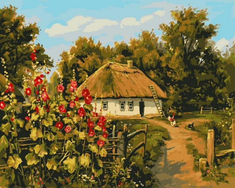 Фото Картины на холсте по номерам, Моя Україна VP 354