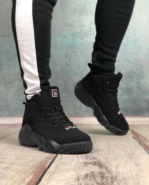 Кроссовки Высокие Stil Black