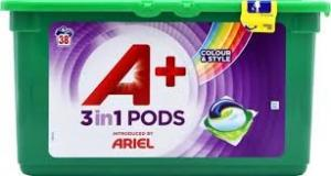 Капсулы для стирки Ariel pods, 38 штук. Для цветного (А+)