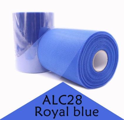 Фото Фатин ,регилин ,лазерная лента Фатин  обычный   Синего  цвета .  Ширина  15 см.