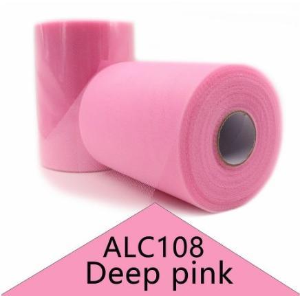 Фото Фатин ,регилин ,лазерная лента Фатин  обычный  Розового  цвета .  Ширина  15 см.